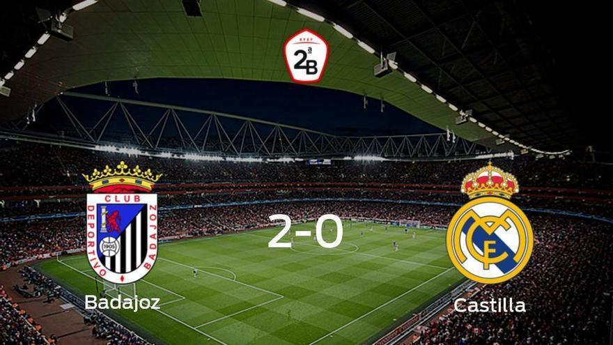 El Badajoz gana 2-0 frente al RM Castilla