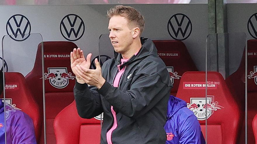 Julian Nagelsmann, favorito de Laporta, entrenará al Bayern