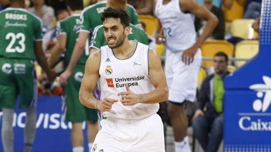 Campazzo, el indomable base que lidera al Real Madrid