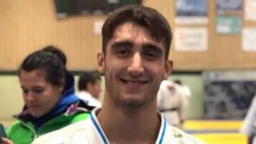 Varela obtiene  el bronce en la  Súper Copa de España de Judo