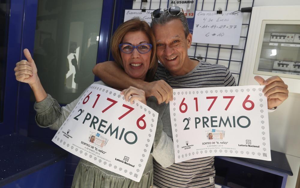 Afortunados con la Lotería del Niño 2019