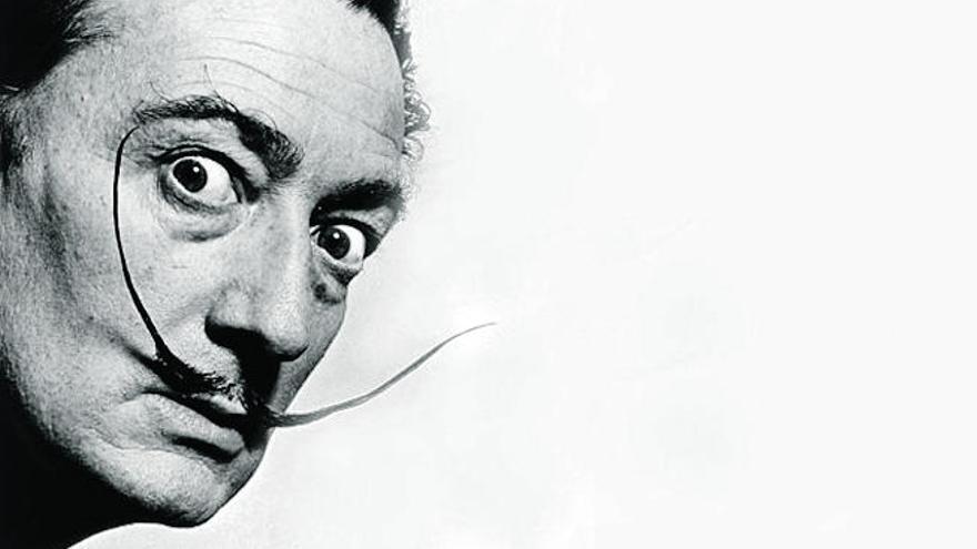 El bigote enhiesto de Dalí