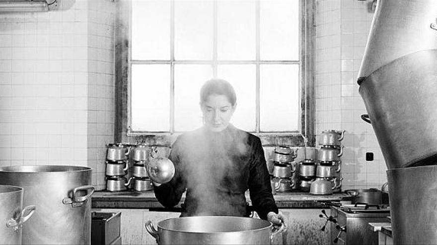 "Así explicaba Marina Abramović su proyecto ""The Kitchen: Homage to Saint Therese de Avila"""