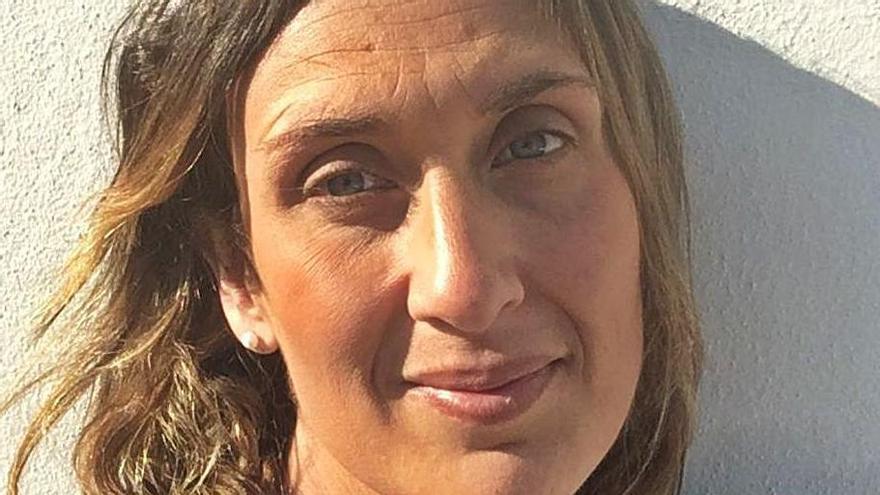 Candela Sánchez, expresidenta del CN Sant Josep. | C.S.