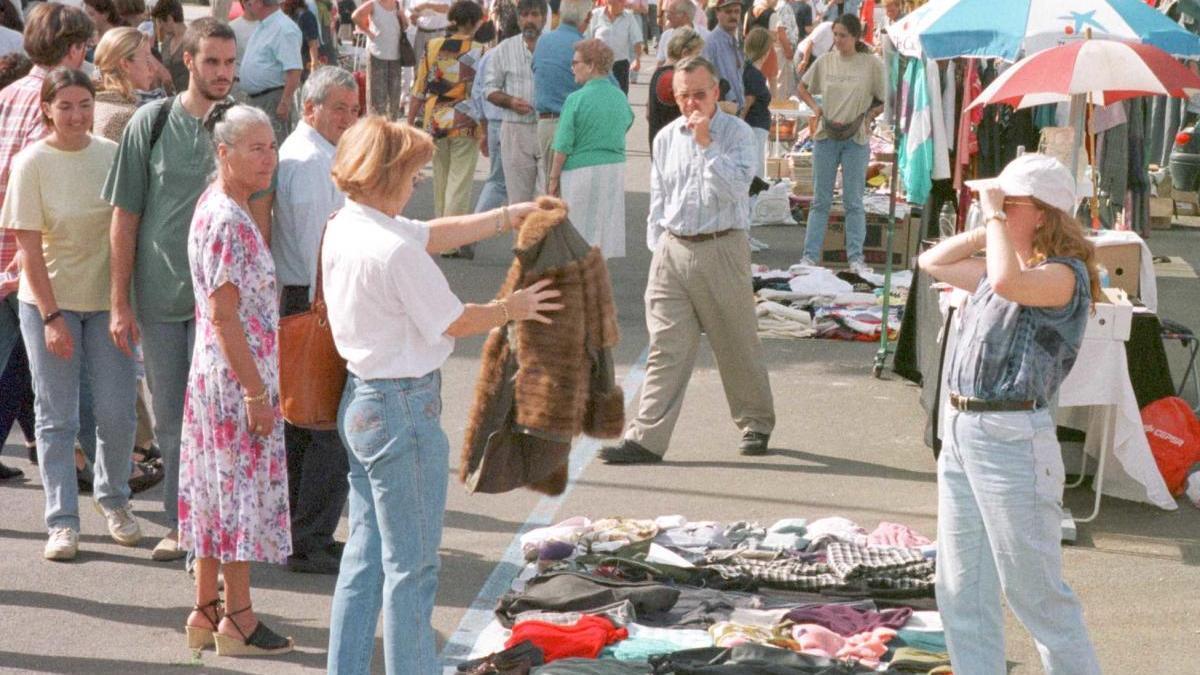 Imagen de archivo del mercadillo de Consell.