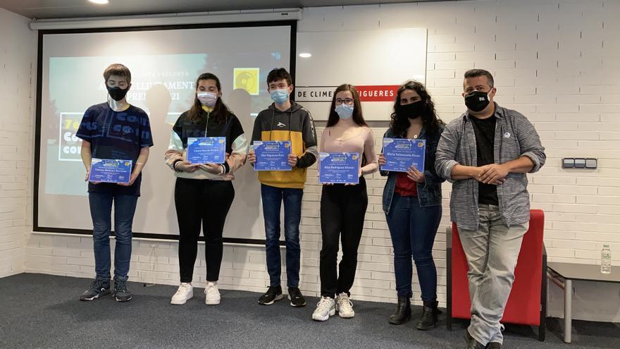 El Biblionauta i el Servei Educatiu de l'Alt Empordà premien la creació literària més jove