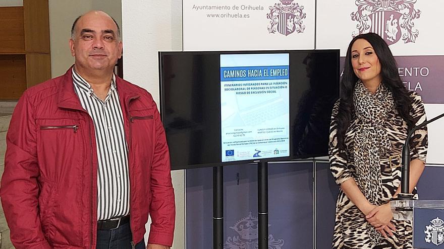 Orihuela presenta un programa de inserción laboral para mujeres en riesgo de exclusión