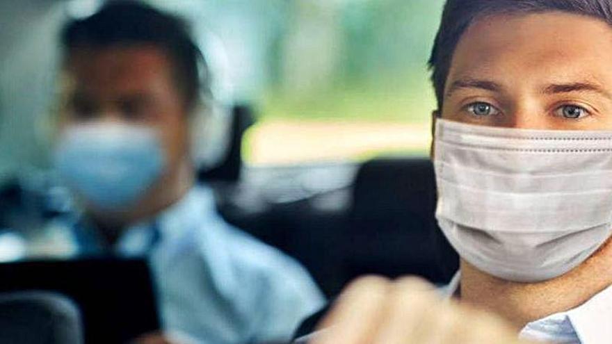 Atención a la multa por no llevar la mascarilla en el coche