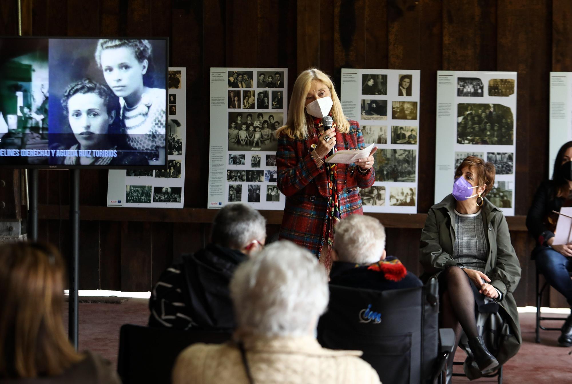Homenaje de Rusia a los niños asturianos de la guerra