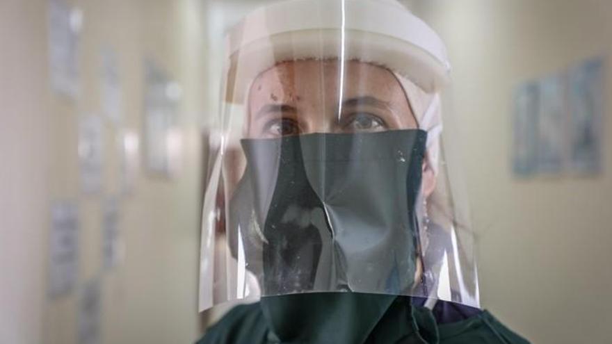 Cristina Martel, la canaria que lucha contra el coronavirus en Yemen