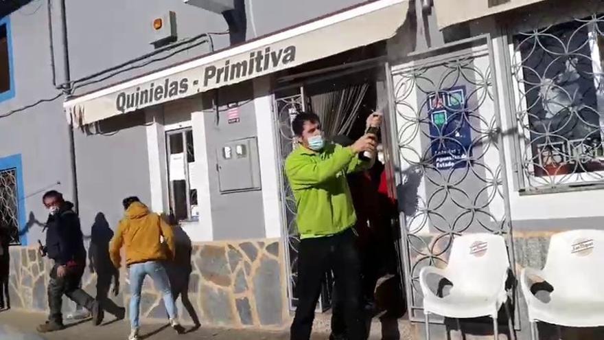 La comarca de Benavente se lleva 275.000 euros de la Lotería del Niño