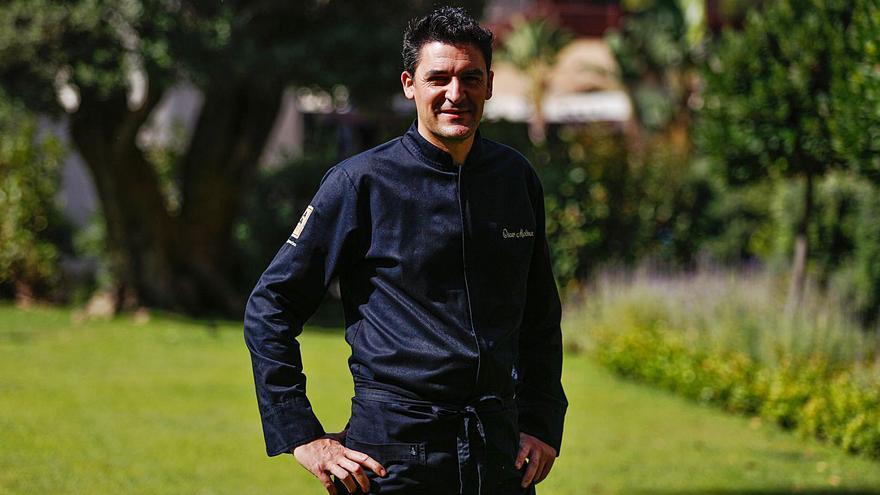 Óscar Molina, chef ejecutivo de la Gaia: «La gastronomía es una forma de hacer arte, de expresarse»