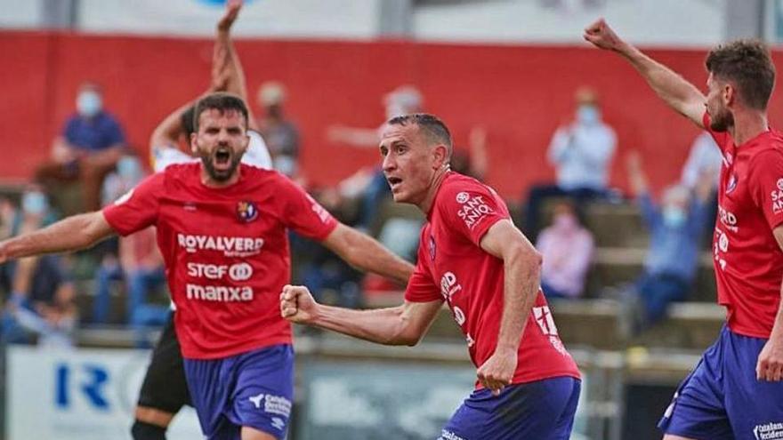 Un gol d'Alan Baró marca la resistència de l'Olot (1-0)