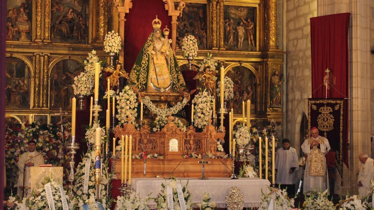Coronavirus en Córdoba: los actos de la Virgen de Araceli, a través de la televisión