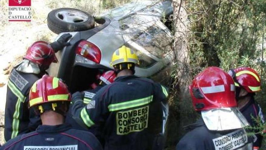 ÚLTIMA HORA | Los bomberos se movilizan por un accidente de tráfico en Vinaròs