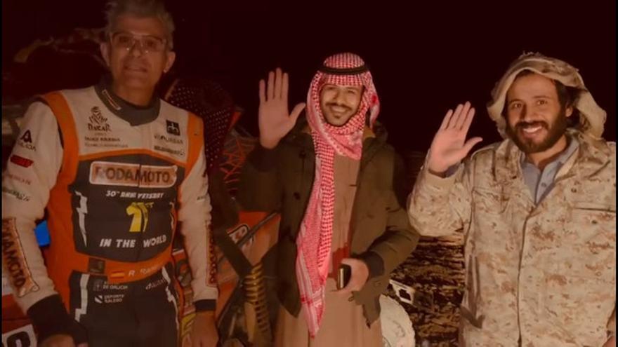 """Ricardo Ramilo: """"Gracias a la solidaridad árabe he descubierto un mundo nuevo que no conocía"""""""