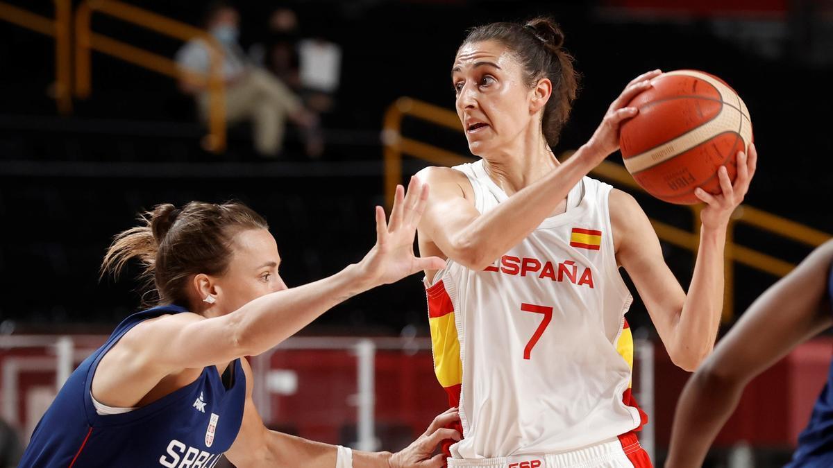 Alba Torrens, defendida por la serbia Nevena Jovanovic