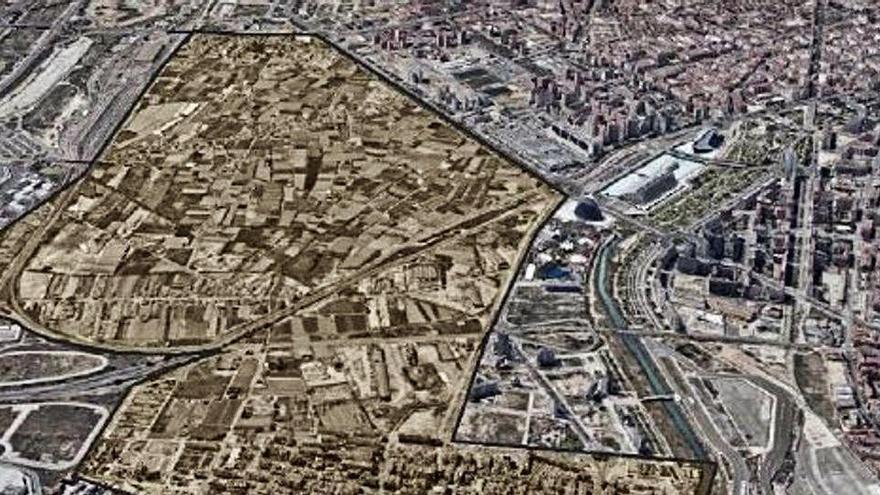 Vuelta a la València vaciada