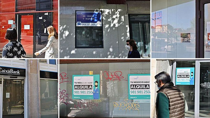 El cierre de sucursales bancarias se desboca en Vigo: solo hay una por cada 2.500 vecinos