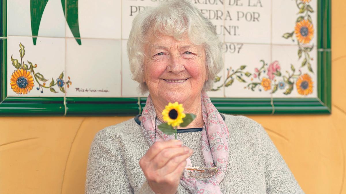 Joan Hunt, fundadora de Cudeca