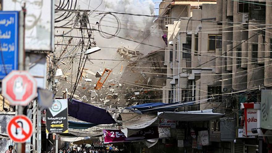 Israel i Hamas accepten l'aplicació d'un alto el foc a la Franja de Gaza