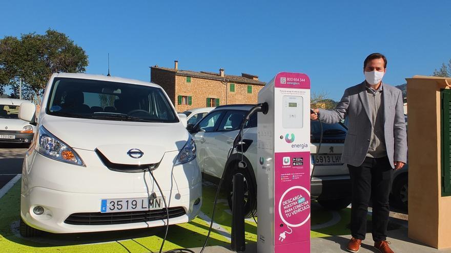 Sóller ya dispone del primer punto de recarga público para vehículos eléctricos instalado por U energia