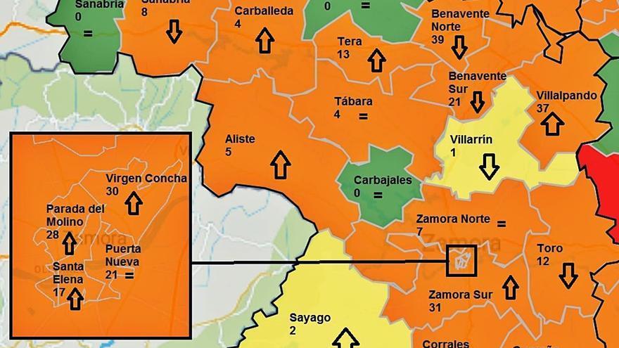 La provincia registra 67 nuevos contagios, la  segunda cifra más alta de octubre