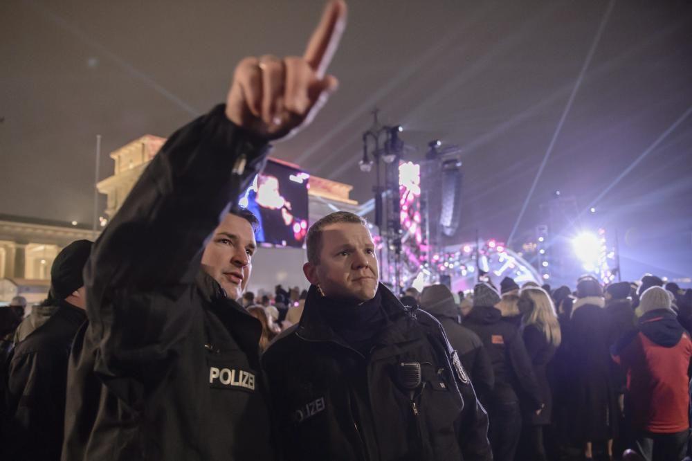 Policía berlinesa.