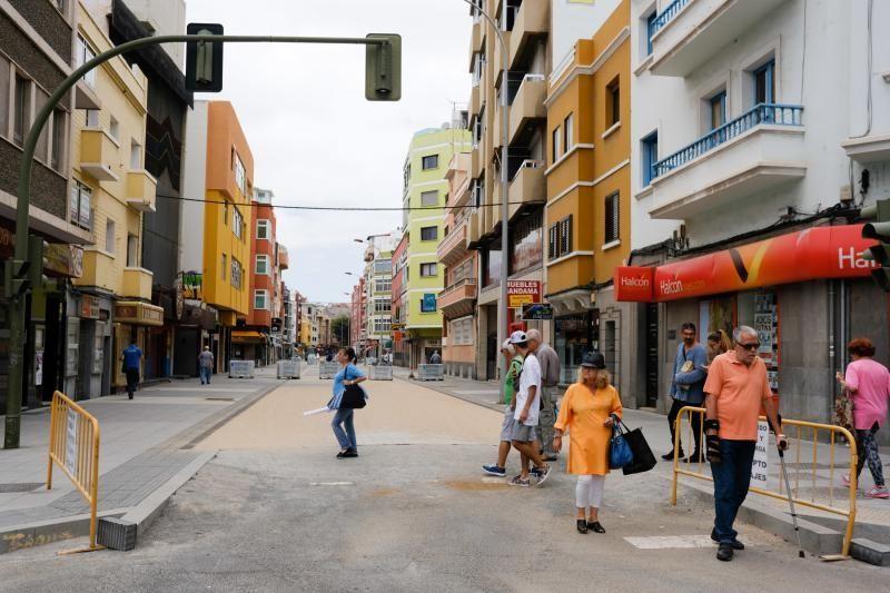 27-06-18. LAS PALMAS DE GRAN CANARIA. OBRAS METRO GUAGUA. FOTO: JOSÉ CARLOS GUERRA.  | 27/06/2018 | Fotógrafo: José Carlos Guerra