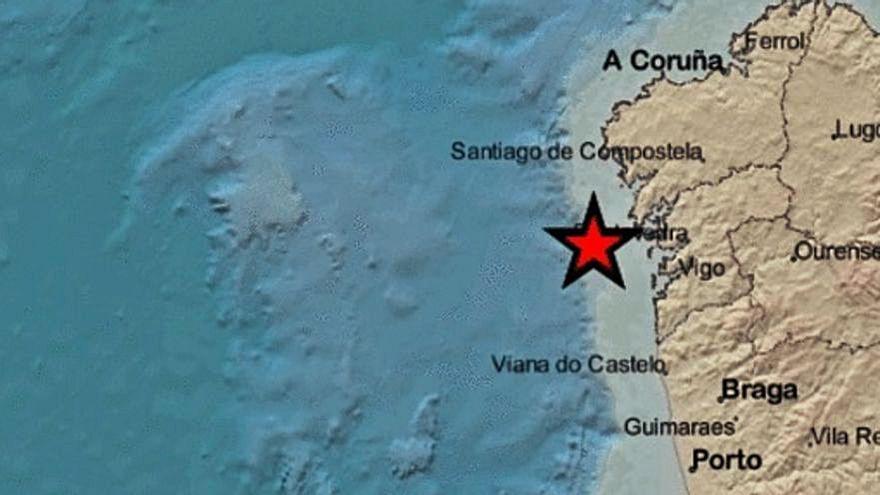 Nuevo movimiento sísmico en la costa de las Rías Baixas