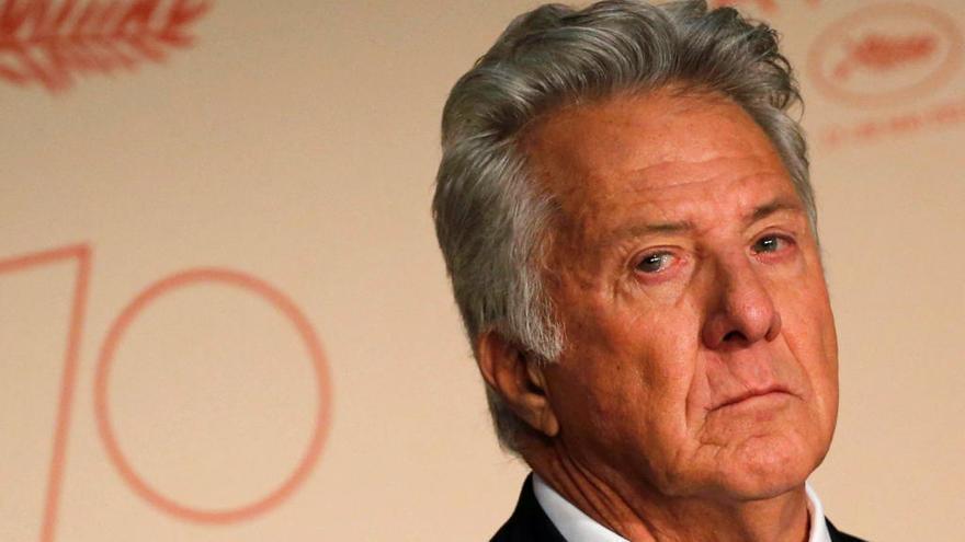 Dustin Hoffman, una divertida y gran estrella en Cannes