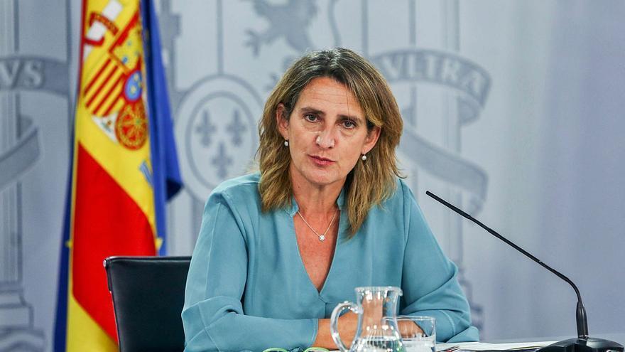 La ministra de Transición Ecológica analiza la nueva oportunidad de país