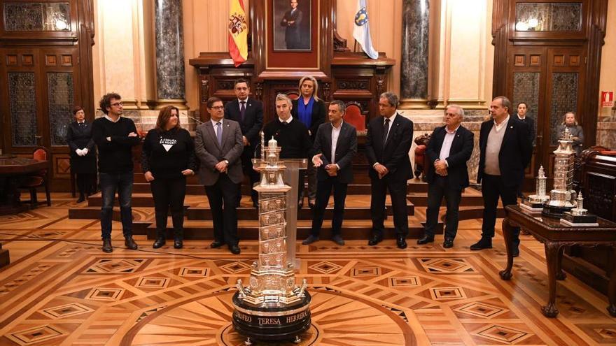 """El alcalde destaca la relación """"de amor y cuidado"""" entre la ciudad y el Deportivo"""