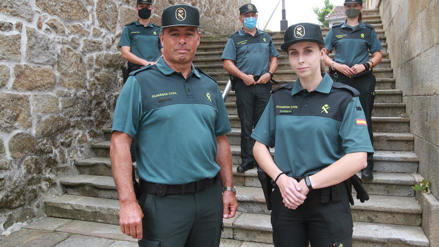 La número 1 entre 2.100, la hija de guardia civil que aspira a ser mando