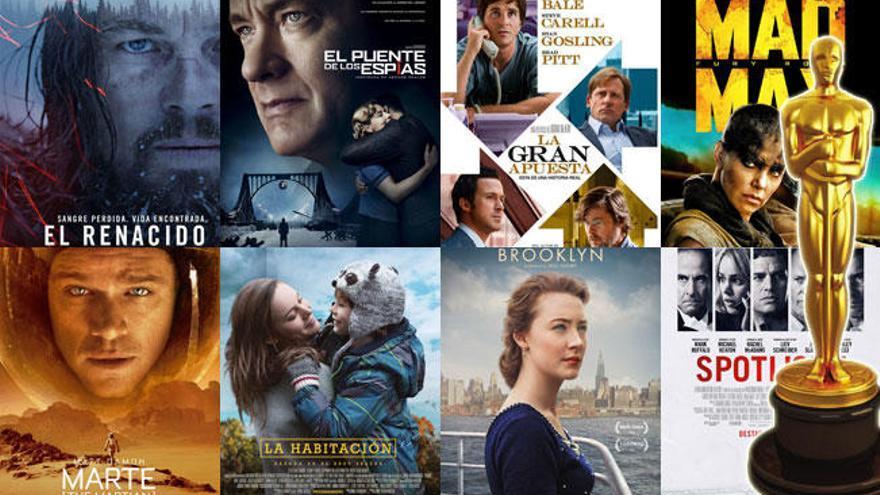 Premios Oscar 2016: Las nominadas a mejor película