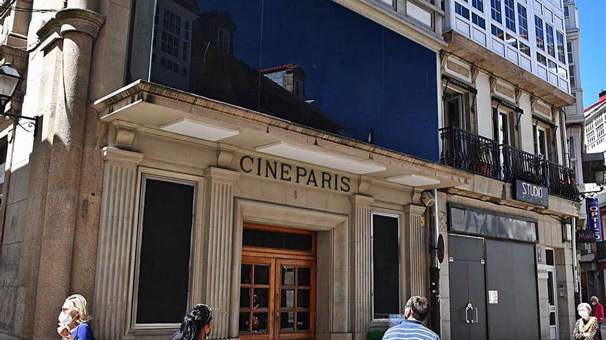 Un grupo hostelero, nuevo inquilino del cine París, reformará parte del edificio