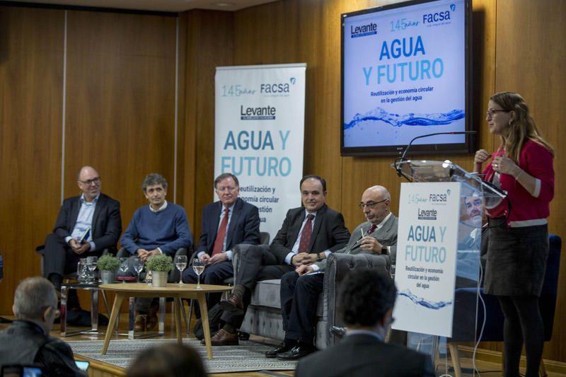 Foro 'Agua y Futuro' de Levante-EMV y Facsa