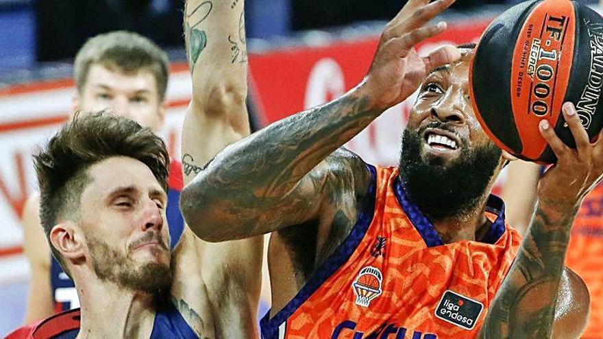 Horario y dónde ver el Baskonia - Valencia Basket