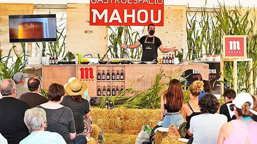Chefs coruñeses ponen sabor al Festival de la Luz