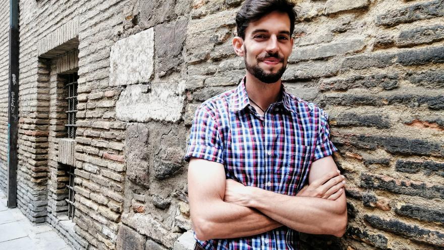 """Eloy Morera: """"Voy a batallar para que se valore la historia de Aragón"""""""