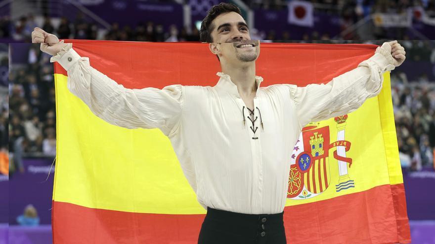 Javier Fernández será el abanderado de España en la clausura de Pyeongchang