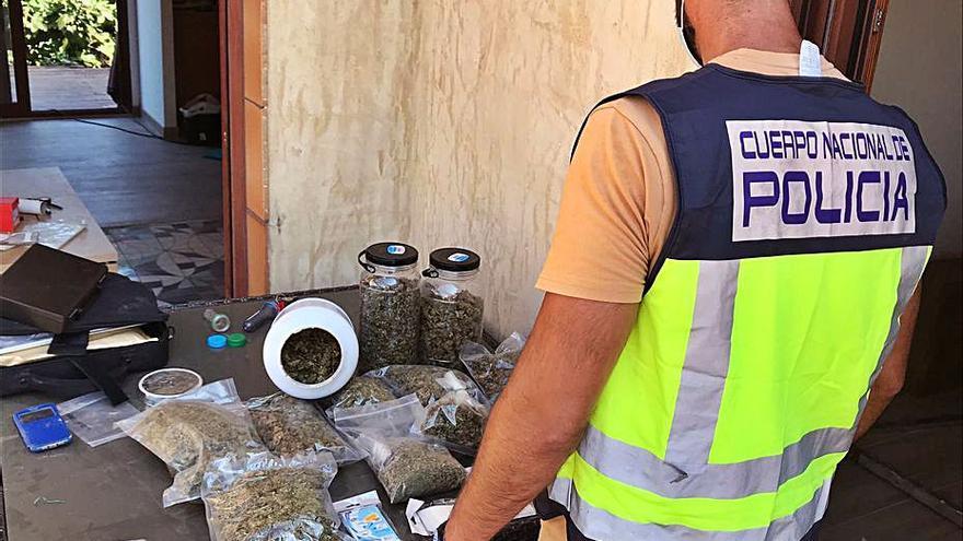 Prisión por haber sido detenido dos veces con plantaciones de marihuana