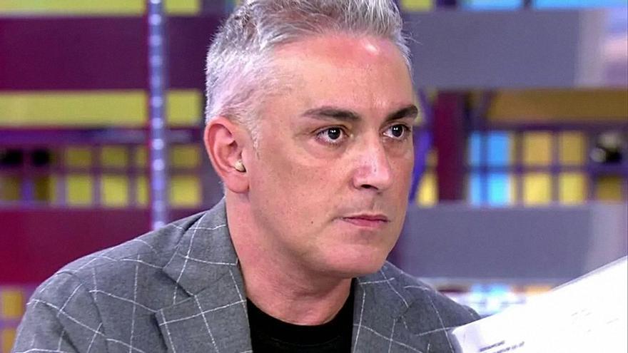 Kiko Hernández reaparece en 'Sálvame' y zanja los rumores sobre su salida del programa