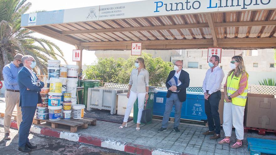 El Cabildo invierte 21 millones en la modernización de los puntos limpios