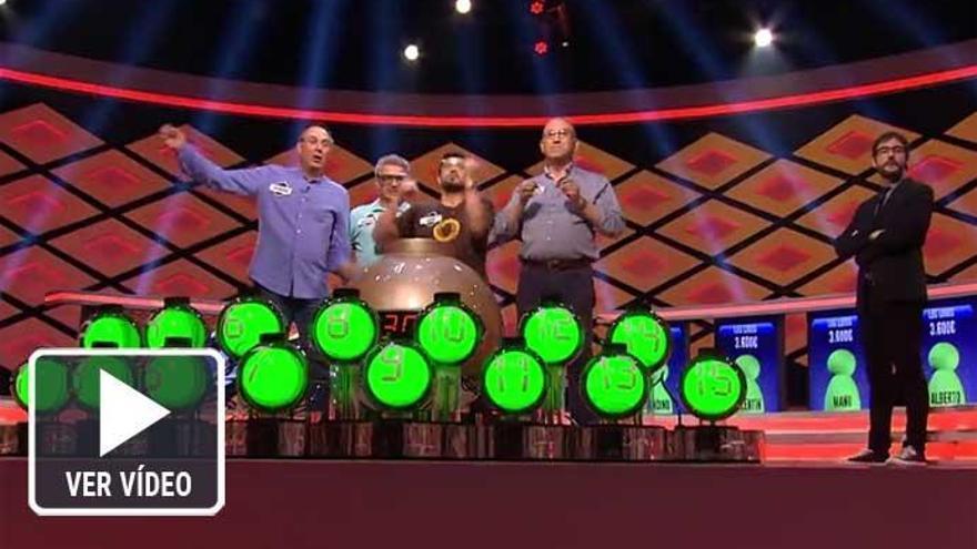 Los Lobos de '¡Boom!' se llevan el mayor bote de la historia de la televisión