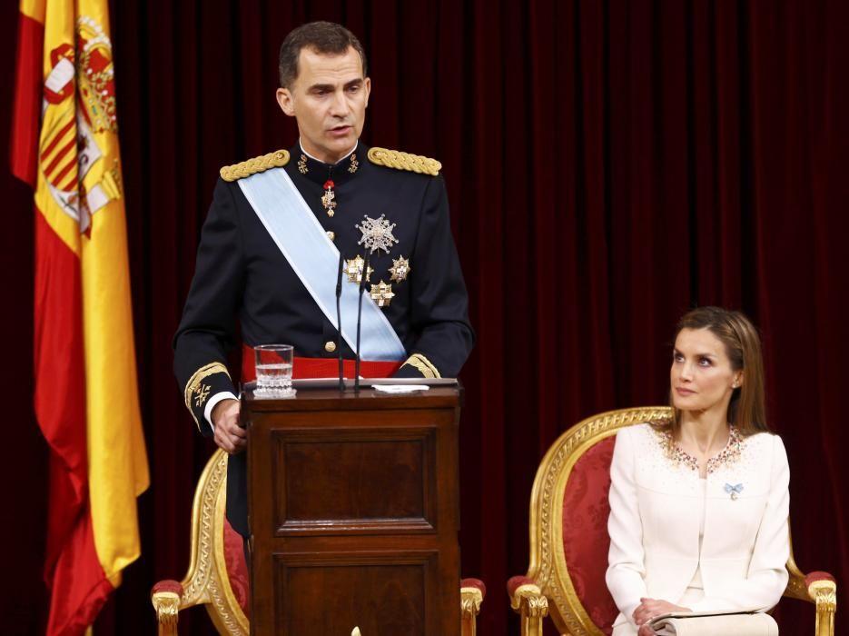La proclamación de Felipe VI como Rey de España