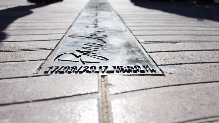 Barcelona inaugura el memorial en recuerdo de las víctimas del atentado de la Rambla