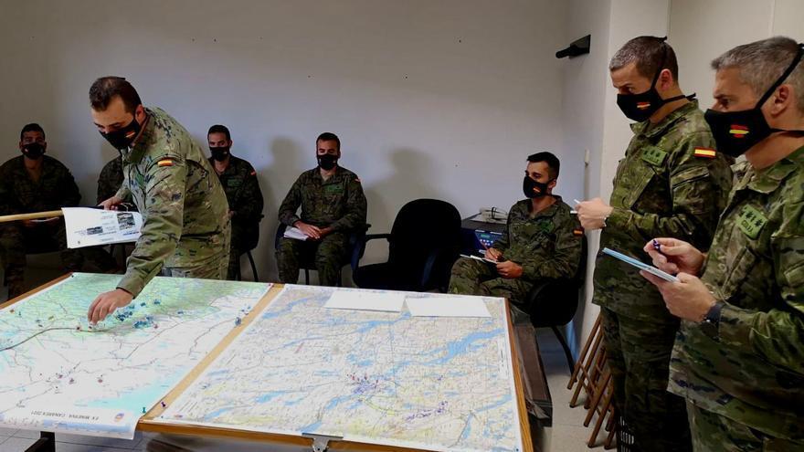 Finaliza el ejercicio MINERVA 21 de la Brigada Canarias XVI