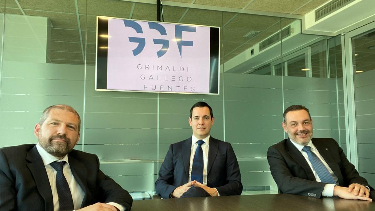 Nace 'Grimaldi Gallego Fuentes', despacho especializado en reestructuración financiera