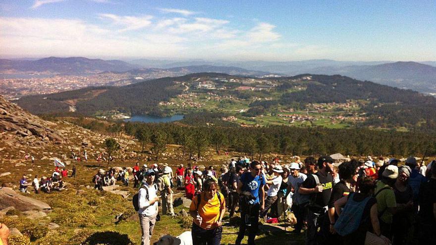 Gondomar rechaza los parques eólicos en el Monte Galiñeiro y la Serra da Groba